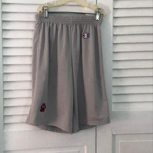 Grey champion basketball shorts
